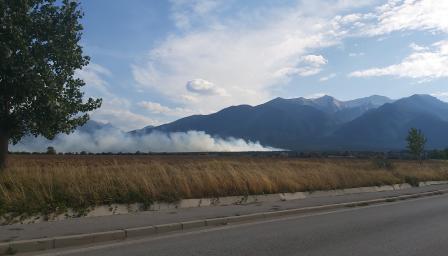 Пожар избухна в Пирин планина