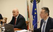 Янаки Стоилов и Иван Гешев обсъдиха преминаването на Бюрото по защита към Министерството на правосъдието