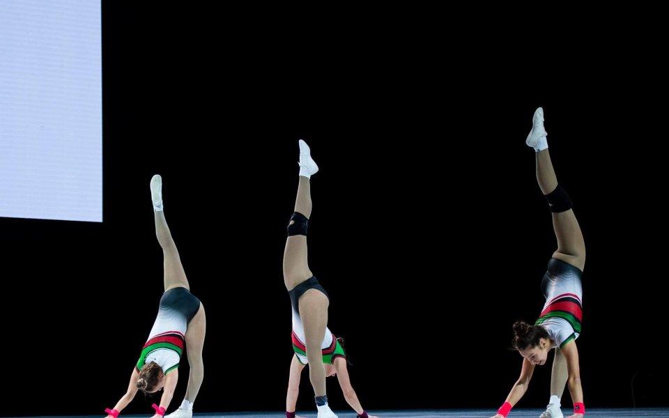 Дарина Пашова се класира на финал на Европейското по спортна аеробика с първа оценка