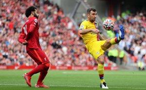 НА ЖИВО: Ливърпул - Кристъл Палас 1:0, пропуск на сезона!