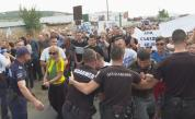 Сблъсъци с полицията на протест в Айтос заради тежка катастрофа