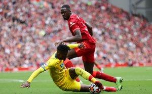 НА ЖИВО: Ливърпул - Кристъл Палас 3:0, пропуск на сезона!