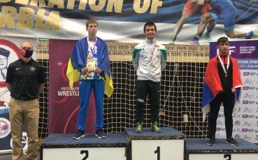 Наше момче стана световен шампион по борба за ученици