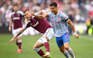 """НА ЖИВО: Уест Хем 1:2 Манчестър Юнайтед, Лингард наказа """"чуковете"""""""