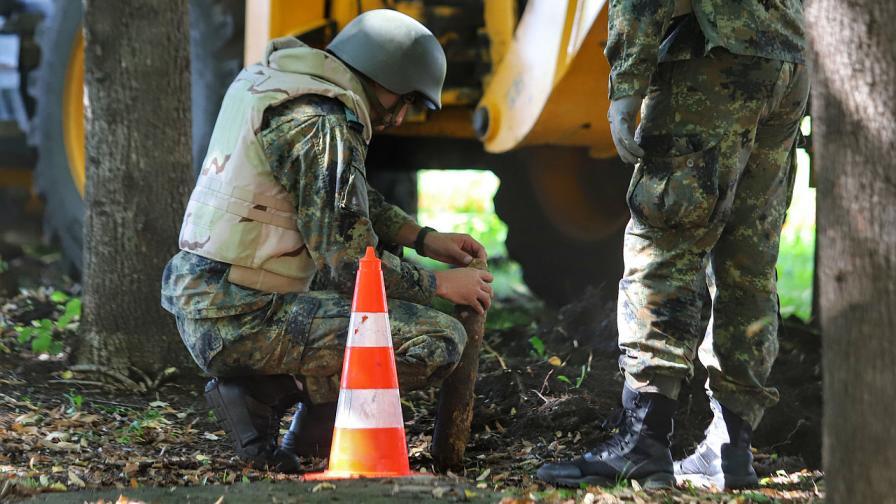 Отцепиха района пред НДК заради невзривен снаряд