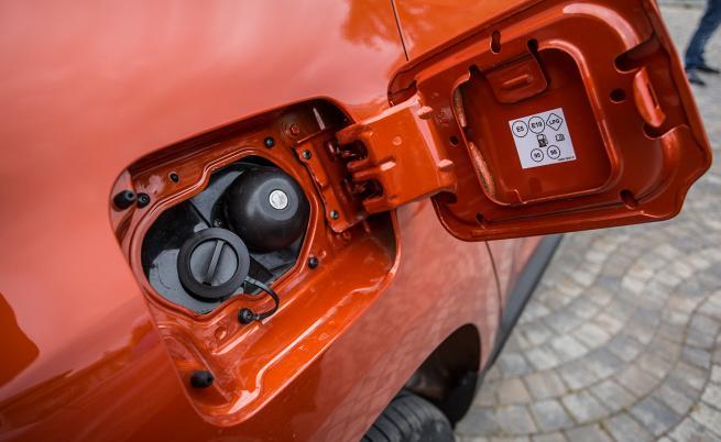 STOP & GO: Полезният капацитет на резервоара за пропан-бутан е увеличен с 16,2 литра. Това увеличава пробега с повече от 250 километра.