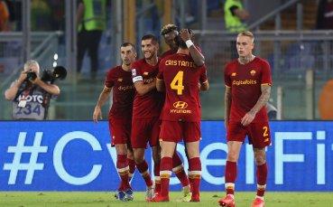 Рома се върна на победния път след успех над Удинезе