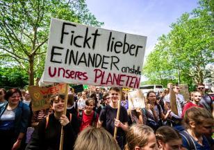 Климатичен протест в Германия