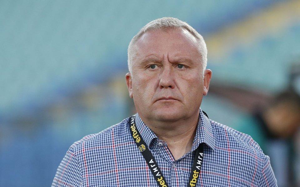 Ръководството на ЦСКА 1948 продължава да издирва нов централен нападател,