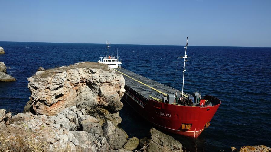НСлС за Vera Su: Има съмнение, че екипажът е унищожил документи
