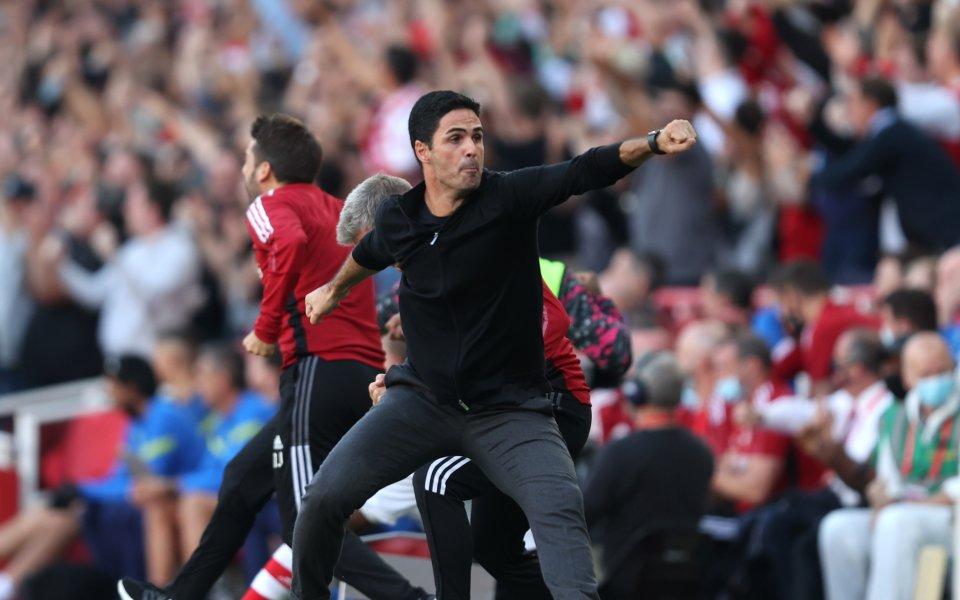 Мениджърът на Арсенал - Микел Артета, сподели след победата над