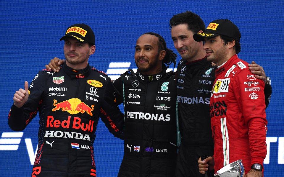 Седемкратният световен шампион във Формула 1 Люис Хамилтън записа своята
