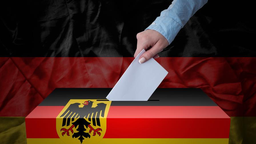 <p>Официално: Социалдемократите печелят изборите в Германия</p>