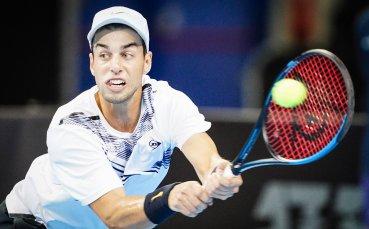 Андреев отпнадна в първия кръг на Sofia Open