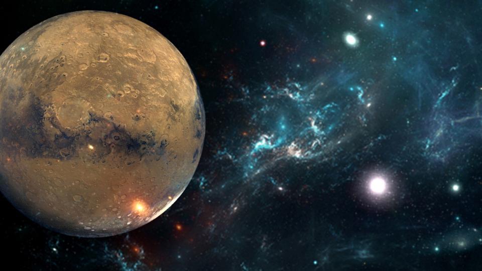 Меркурий планета планети космос звезди астрология
