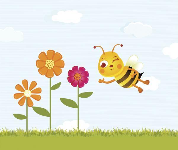 градина пчела