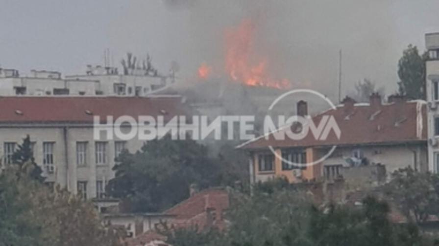 <p>Овладяха пожара в Плевен&nbsp;</p>