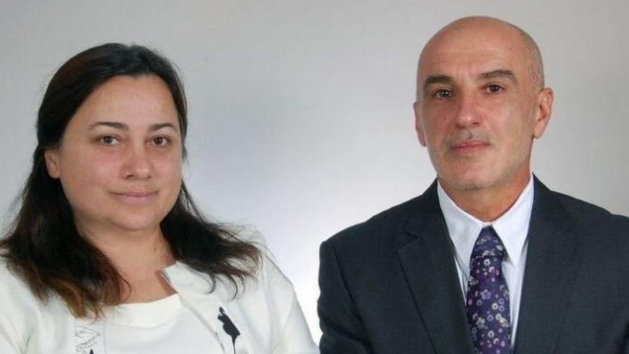 Благой Петревски и Севина Хаджийска