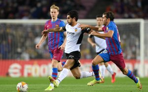 """НА ЖИВО: Барселона 1:1 Валенсия, страхотни голове на """"Камп Ноу"""""""