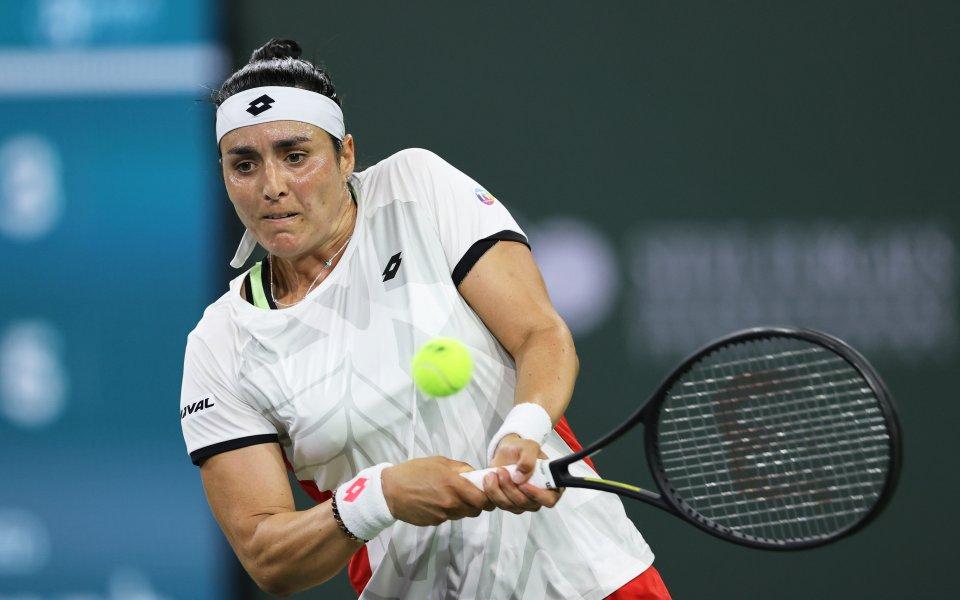 Тунизийската тенисистка Онс Жебур се превърна в първата арабска тенисистка