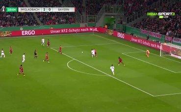 Борусия Мьонхенгладбах - Байерн Мюнхен 3:0 /първо полувреме/