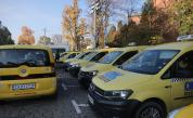 Протест на таксиметровите шофьори в София: искат двойни тарифи