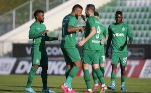 Лудогорец е на 1/4-финал за Купата след безпроблемен успех над Локомотив ГО