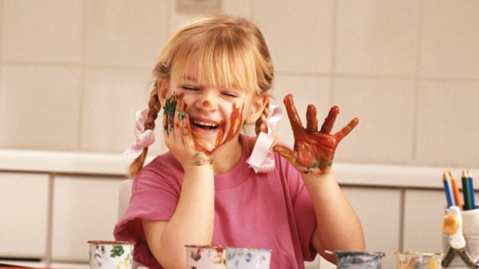 Как да направим безвредна боя за деца