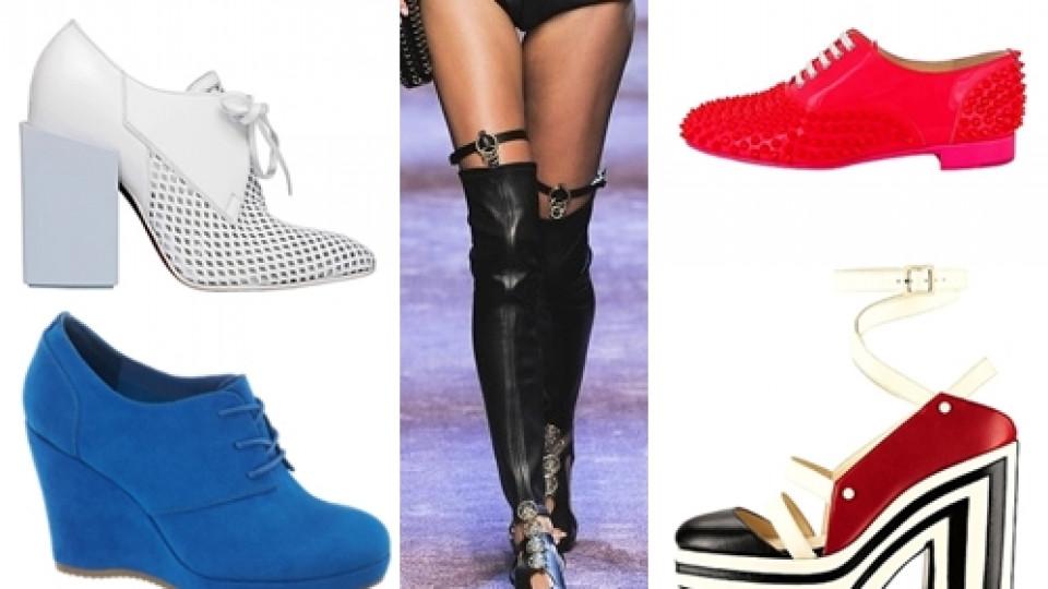 Обувки – тенденции пролет/лято 2013