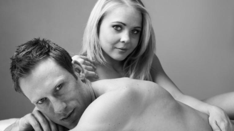 унисекс мъж жена секс черно бяло