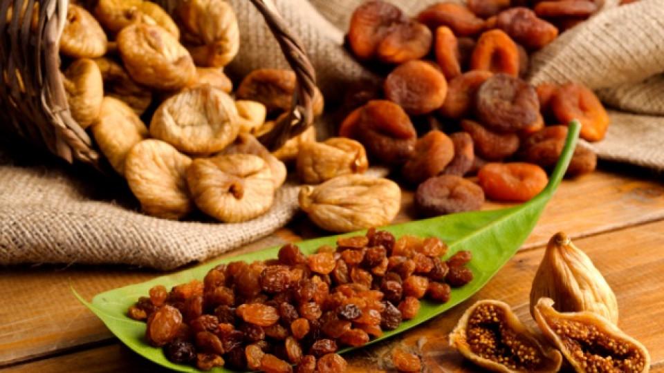 Гъста и здрава коса със сушени плодове и куркума