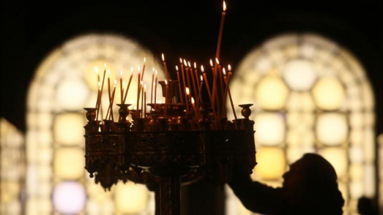 църква свещо молитва