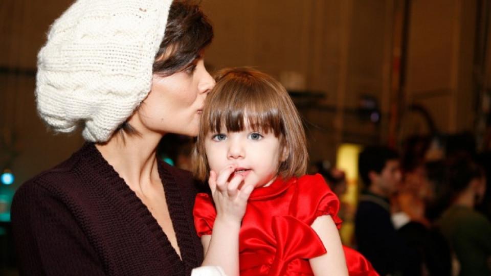 Сури Круз с майка си Кейти Холмс