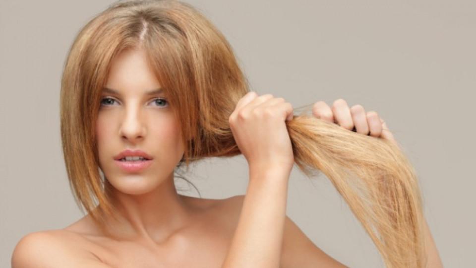 Домашни решения за сухата коса