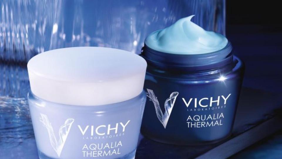 Новата серия AQUALIA THERMAL SPA разкрива блясъка на кожата като хидратира и заличава следите от умора