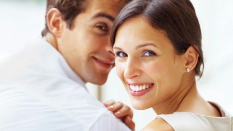 двойка влюбени щастие