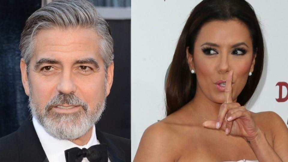 Ева Лонгория разделила Джордж Клуни и Стейси?