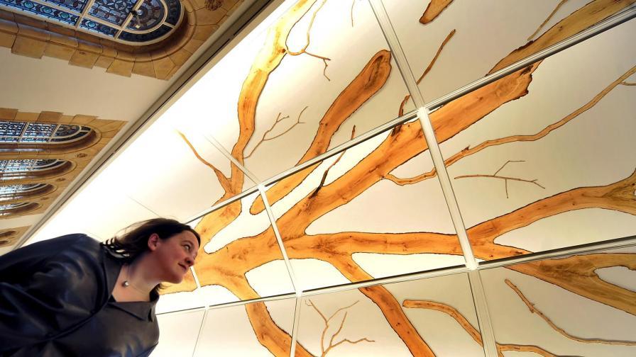 Дървото на живота - на таван