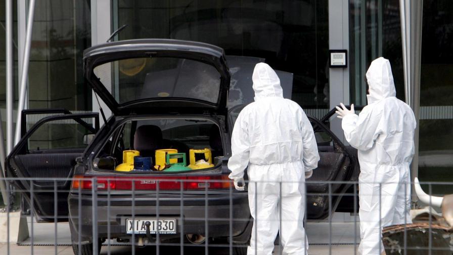 На 18 март бе осуетен опит за атентат с кола-бомба в гръцката столица
