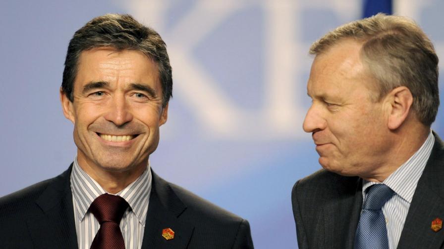 Расмусен е новият генерален секретар на НАТО