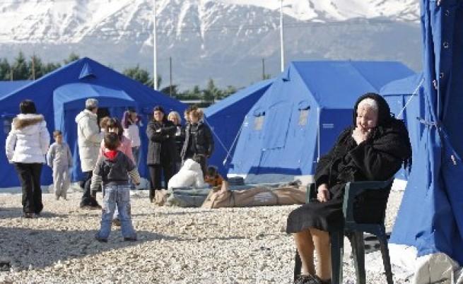 Берлускони подкани хората от Акуила да се чувстват