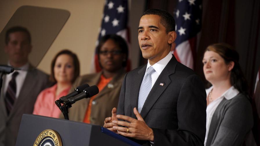 Обама отчете 2,7 млн. доходи за 2008-а