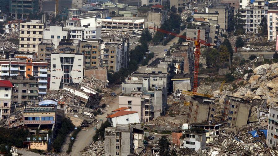 През май миналата година китайската провинция Сечуан бе разтърсена от унищожително земетресение