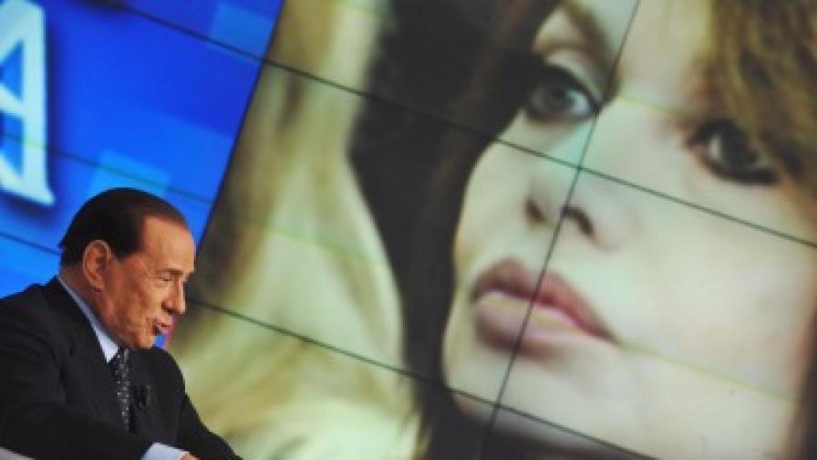 Берлускони обещал депутатско място на невръстна приятелка
