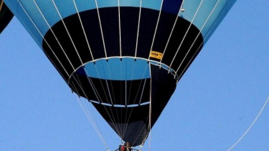 Балон с туристи падна в Кападокия