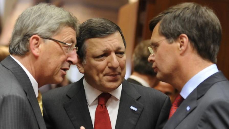 Подкрепиха Барозу за втори мандат