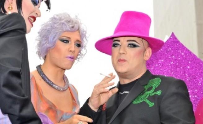 Г-жа Гордън Браун участва в гей парад