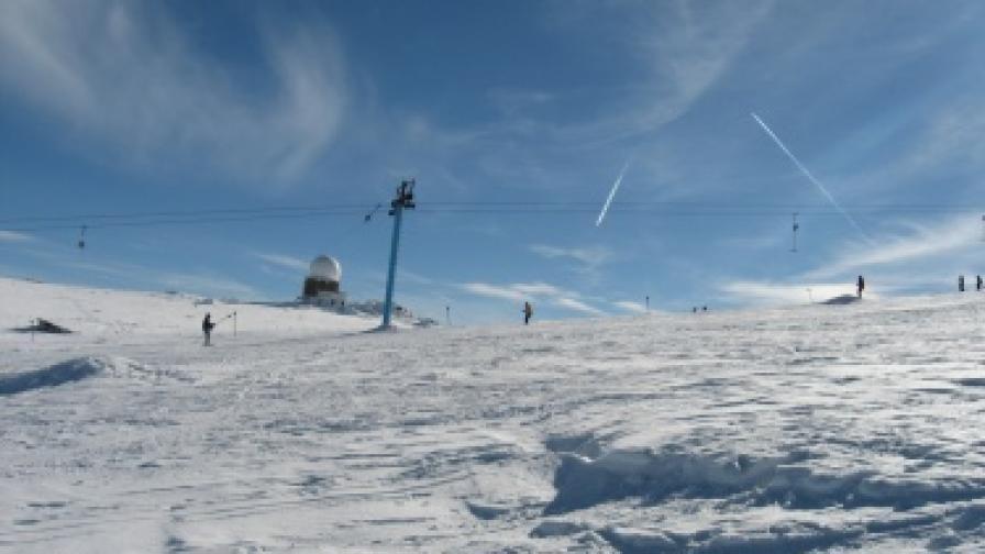 7 пъти увеличaват площта на ски зоната във ПП Витоша