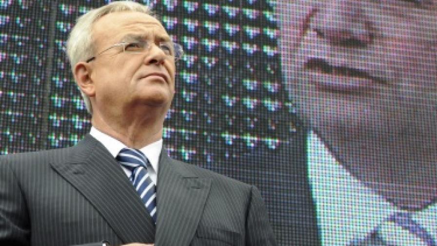 """Ръководител на изцяло новата компания ще е сегашният шеф на """"Фолксваген Груп"""" Мартин Винтеркорн"""