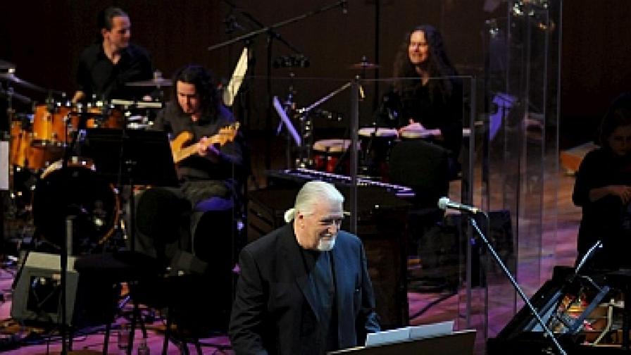 Джон Лорд през март в Будапеща, където изпълни своя Concerto For Group and Orchestra от 1969 г.
